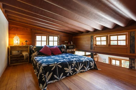 Room type: Entire home/apt Bed type: Real Bed Property type: House Accommodates: 3 Bedrooms: 1 Bathrooms: 1