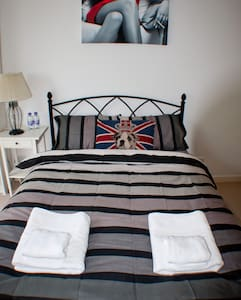 Private Double bedroom CanaryWharf - London - Apartment