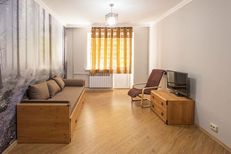 Cozy apartment close to TV tower - Almaty - Apartment