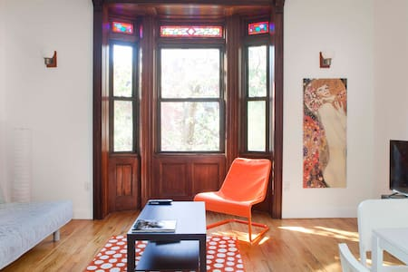Modern/Historical Brownstone UWS - 公寓