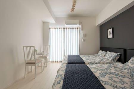 Namba 4min/Free pocket wifi Ⅱ - Apartment