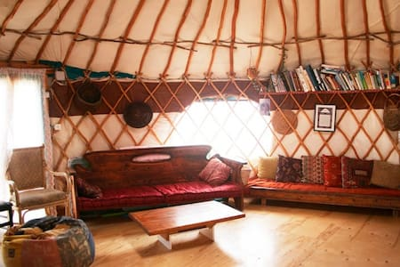 spacious yurt faceing the dessert - Tekoa - 蒙古包