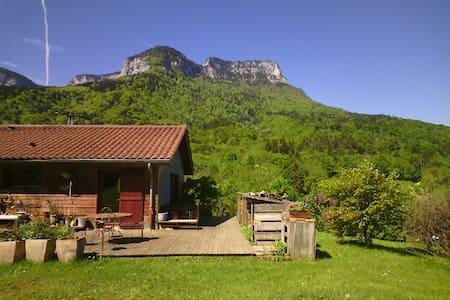 Maison pleine nature, 15km CHAMBERY - Chapareillan - Casa
