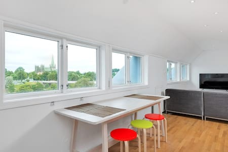 Large penthouse apartment with a spectacular view - Trondheim - Apartment