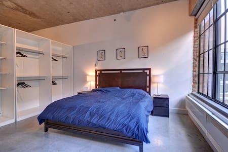 Extravagant Loft in Old Montreal - Montréal - Wohnung