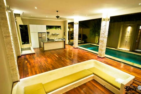 Private, quiet 2BR villa Seminyak - Kuta - House