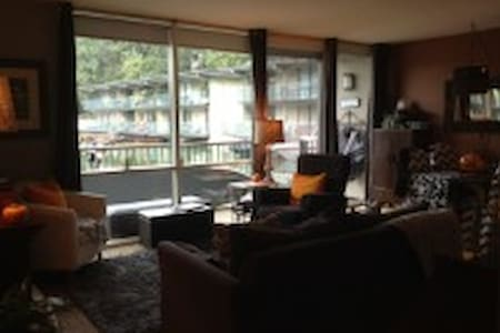 A cozy modern condo located in downtown Lake Oswego, with floor to ceiling windows looking out to the lake, and walking distance to a grocery store, movie theater and restaurants!