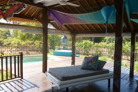 45% off! Private pool, house. Beach