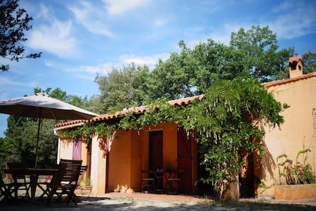charmante et confortable villa - Régusse - Huis