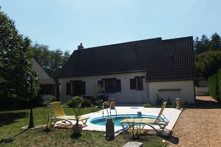 Maison rustique de type Sologne - Bed & Breakfast