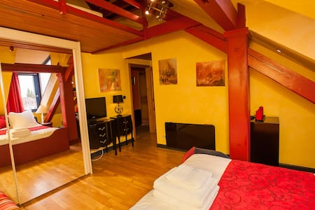 Chambre Baudelaire - Le Loft 13 - Strasbourg