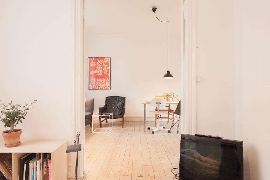 Nice apartment in trendy Nørrebro