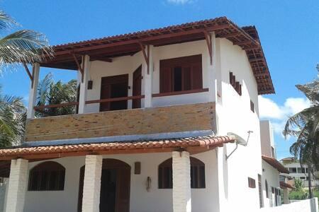 casa frente al mar en maxaranguape - Rumah