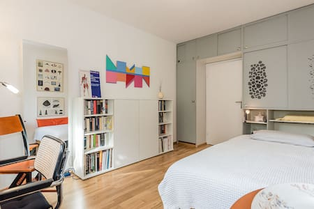 Beautiful room close to fair - Appartement