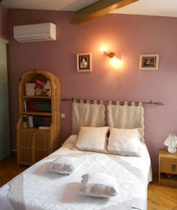 1 or 2 rooms. Private sanitary area. Breakfast - Lansargues - Bed & Breakfast