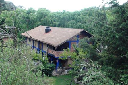Cabaña para familia o escritor - Blockhütte