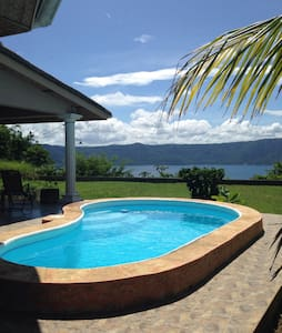 Amazing room view on Laguna Apoyo - Granada - Bed & Breakfast