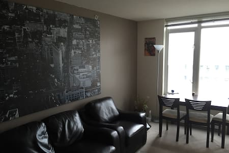 Heart of Downtown Vancouver Room