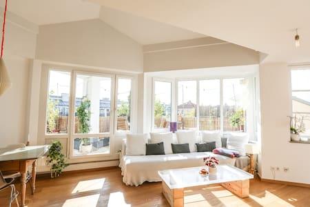 80sqm maisonette flat/ roof terrace - Kondominium