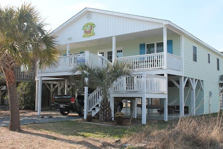 Keylime Cottage - OIB Bungalow - Ocean Isle Beach - House