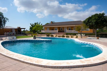 House,Garden and Pool for 16 people - Chalé