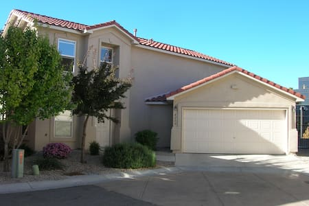 My house is clean, located in a gated community (safe) and3 min drive to UNM. Three groceries are located on the way to UNM. I am a PhD candidate at UNM (Japanese). I can show you JPN cultures, including origami, Japanese tea ceremony, and JPN armor.
