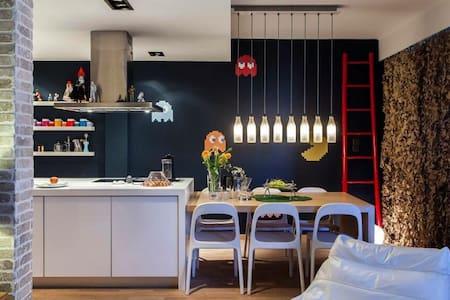stylish beautiful loft apartment - Wohnung