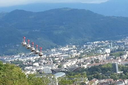 Accès direct centre ville de Grenoble et montagnes - Apartment