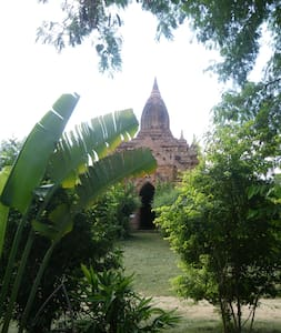 Bagan private house /pool/riverside - Casa