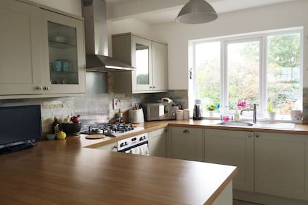 2 Double rooms just outside Cardiff - Casa