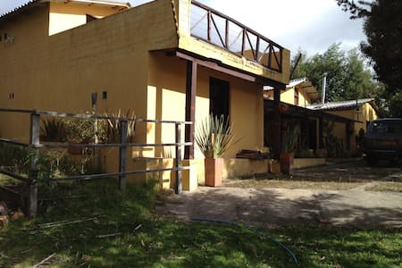 Country house with view over a lake - Guatavita