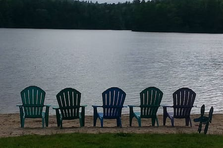 Adam's Lake Cottage Retreat - Bridgton - Kabin