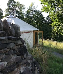 Yurt on Family Homestead - Brattleboro - Yurt