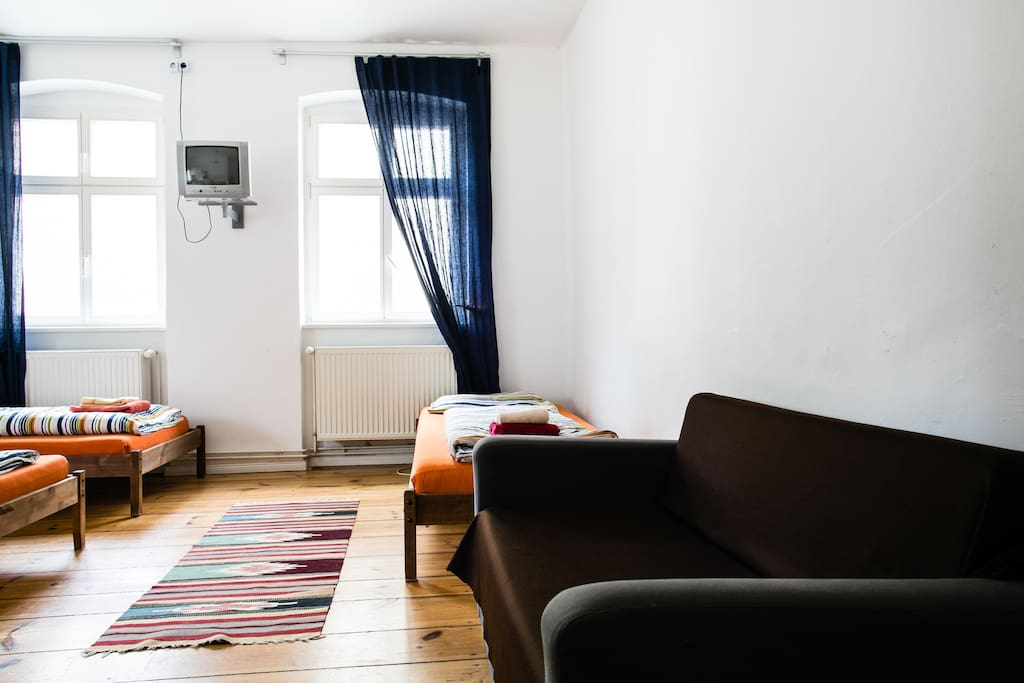 Berlin central city apartment