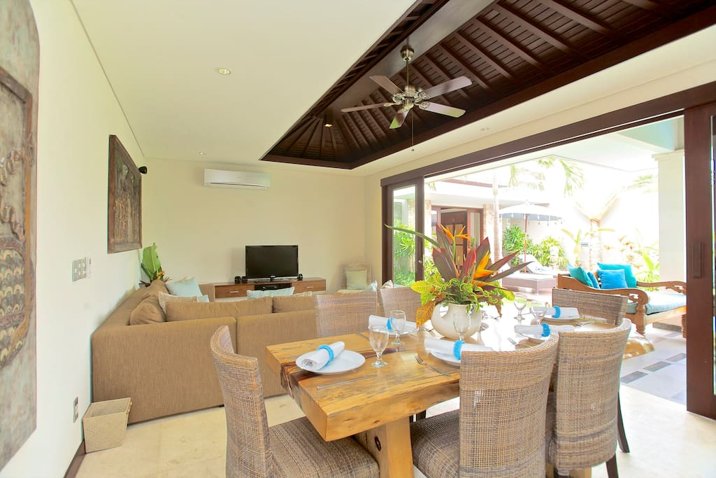 Luxury on the beach in Sanur, 3 bed