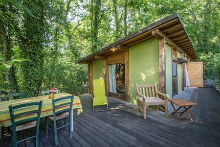 Private cottage in Tuscan garden - Blockhütte