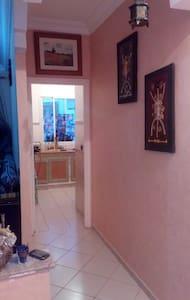 Appartement climatisé avec wifi,Securisé et calme - Salé