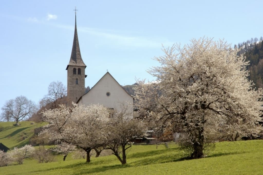 The very old neighbor village of Ernen (10min. drive)