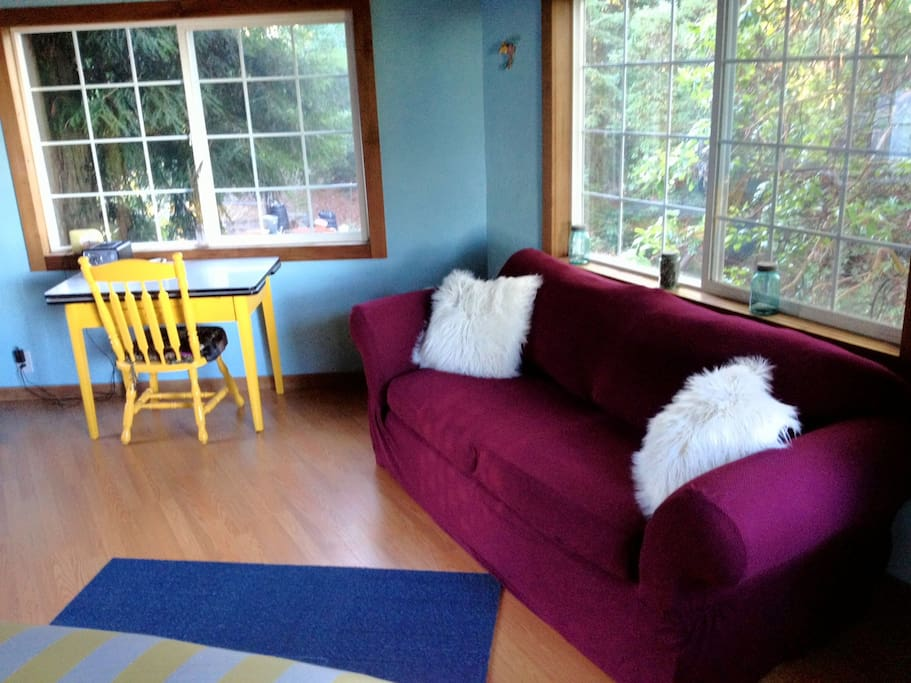 Sitting area. and more views...