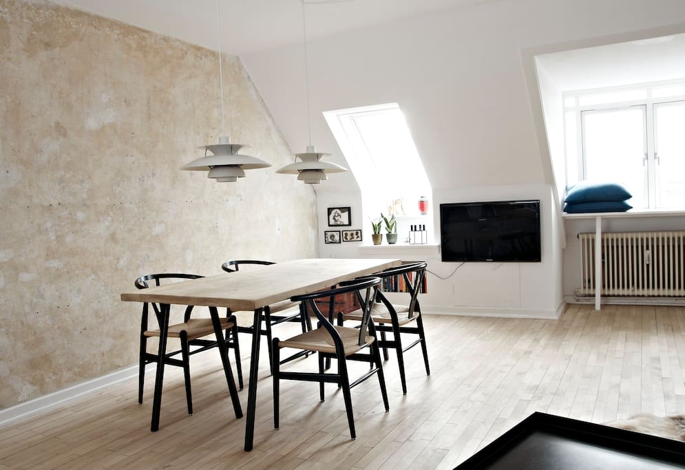 Loft with great view  CPH Vesterbro
