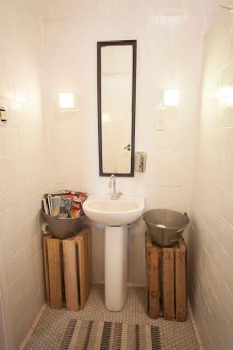 Banheiro compartilhado
