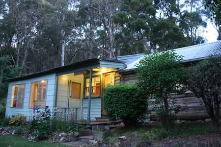 Old miners cabin in the Aussie bush - House