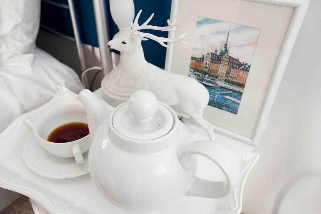 Unlimited coffee and tea during your stay.
