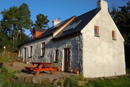An Ti Glas, Eco Cottage on a farm
