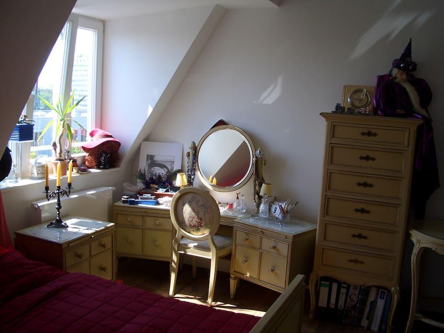 Zimmer in Traumwohnung für Tänzer