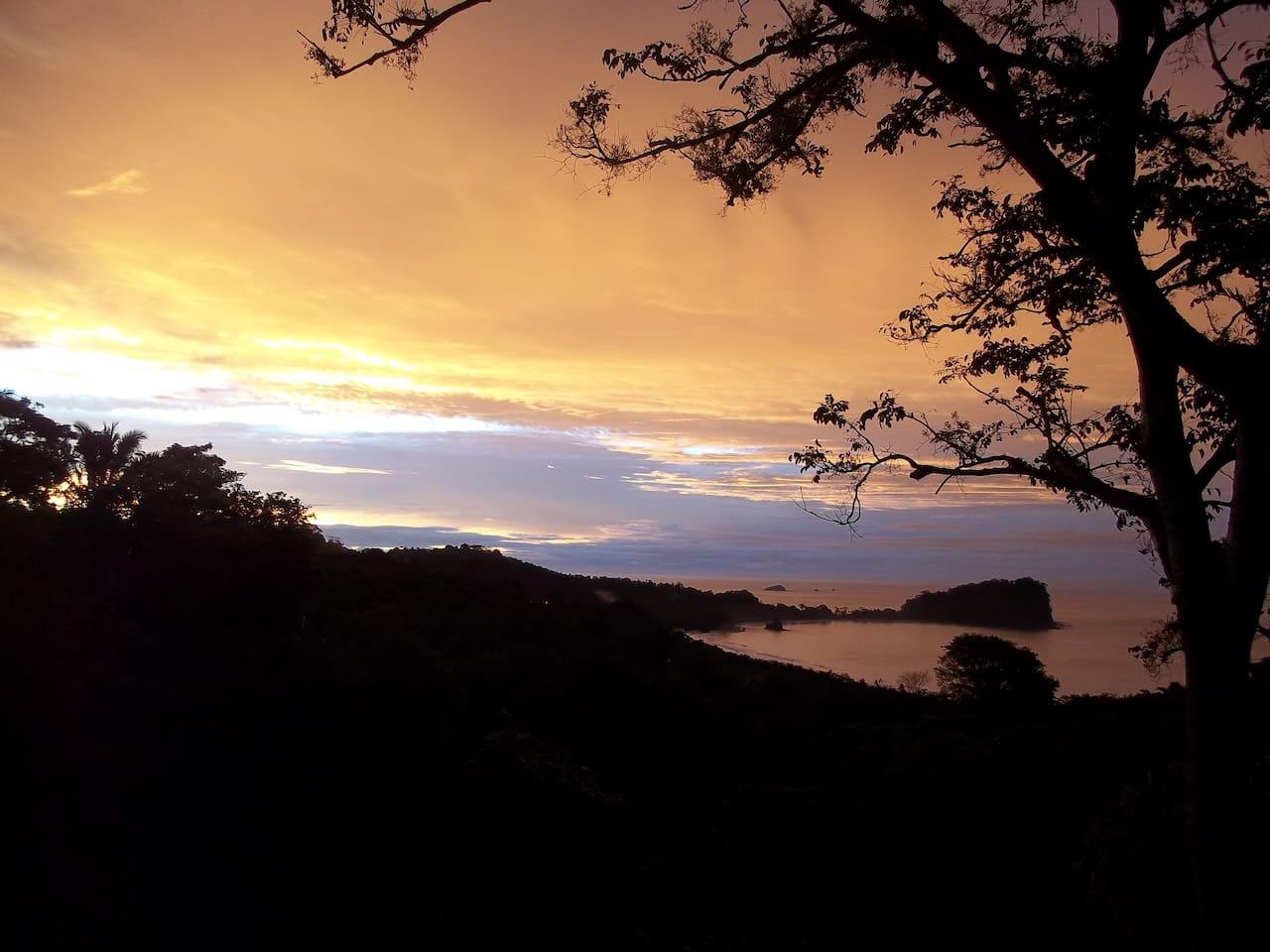 Sunrise from Casa Buena Vista