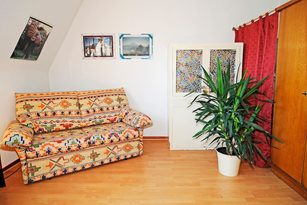 guest room in the Kreuzviertel area