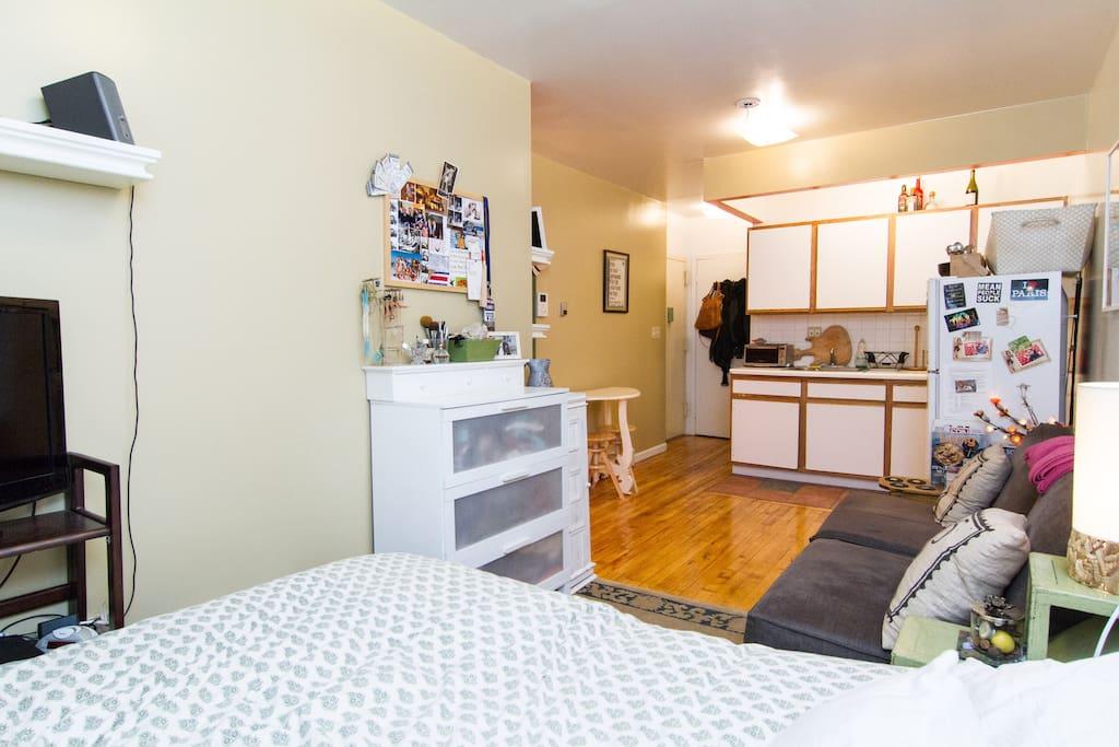 Cozy & Clean Studio in the LES