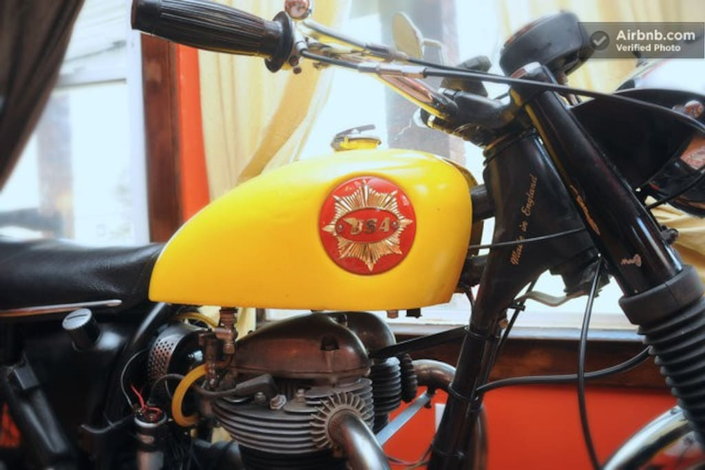 Our restored 1965 BSA Cyclone