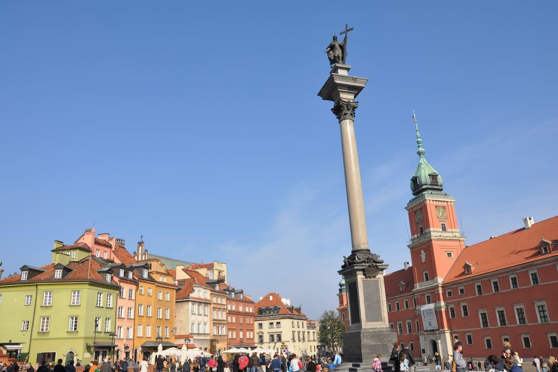 Plac Zamkowy = Castle Square :-)